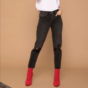 Kendall Kylie High Waist Mom Jeans